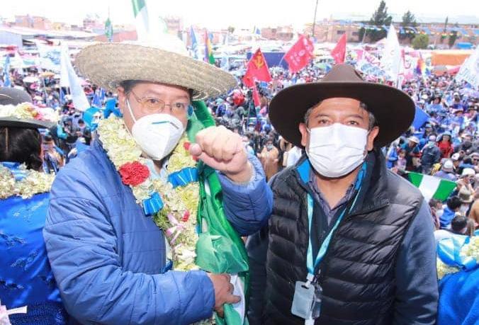 Organizaciones celebran triunfo del binomio del MAS con desfile y danzas  autóctonas en El Alto | Erbol